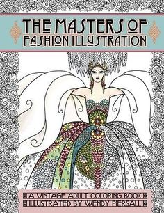 Beautiful-Fashion-Vintage-Coloring-Book-Adult-Designs-Anti-Stress-Relax-Therapy