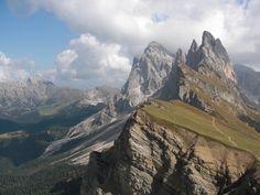 Seceda, Dolomiten, Wolkenstein, St. Ulrich, St. Christina,