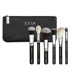 Zoeva - Classic Face Set - 6 face brushes + Clutch (small)
