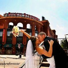 Busch stadium wedding. Have to. by bernice