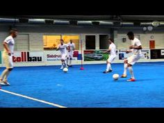 FC Barcelona - Pass and Sprint Drill - YouTube