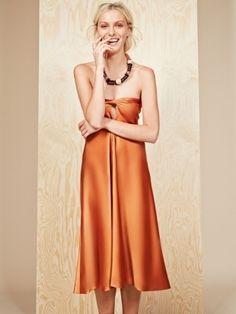 a21c0fd616 Платье-бандо с вырезом капелькой Shops
