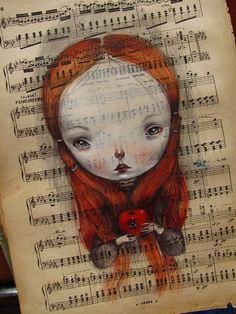 Dilka Nassyrova (aka Dilka Bear or Dilkabear) was born in Alma-Ata, Kazakhstan (USSR) in 1977; lives and work in Triste, Italy