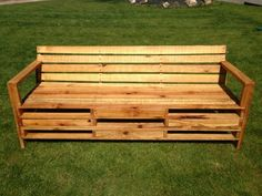 sofa2M 600x450 Bench made with 2m pallets in outdoor garden furniture  with sofa Bench