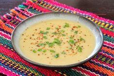 sopa de chayote