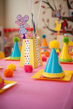 "Photo 8 of 41: Sesame Street inspired / Birthday ""Zoe's Sesame Street Soiree"" | Catch My Party"