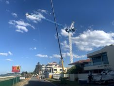 BQ GHT4510-6 luffing crane in Gold Coast of Australia Coast Australia, Gold Coast, Crane, Tower, Rook, Computer Case, Building