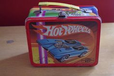 Vintage 1969 Hot Wheels Mattel Metal Lunchbox