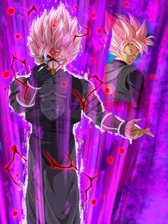 Goku Black ssj Rose 2 Crimson Masked Saiyan