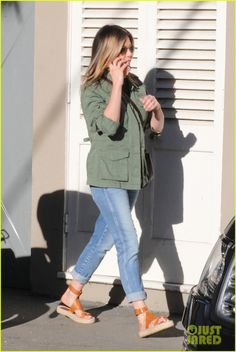 Jennifer Aniston Spends the Afternoon Shopping in WeHo