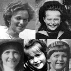 All five of the Romanov children had adorable gaps in their teeth from Instagram