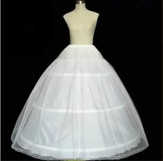 >> Click to Buy << Hot Sale Three Hoops Petticoats for Ball Gowns Adjustable Sizes Crinoline Bridal Accessories Underskirt #Affiliate