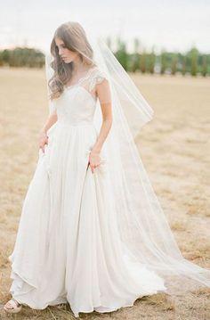 Tipos de velos de novia