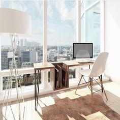 On instagram by rib.north #homedesign #contratahotel (o) http://ift.tt/1LtghDa workspace and interesting writing desk. #interior  #style #lifestyle #interiors #decorating #interiordesign #interiordecor #architecture #landscapedesign #scandinavia #scandinaviandesign #ribnorth