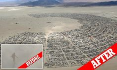 Aerial shots show Burning Man party after brutal dust storms pass #DailyMail | These are some of the stories. See the rest @ http://www.twodaysnewstand.com/mail-onlinecom.html or Video's @ http://www.dailymail.co.uk/video/index.html And @ https://plus.google.com/collection/wz4UXB