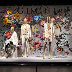 WEBSTA @ visual_window - GUCCI ...#windowdisplay #merchandising #amazing #sales #visualmerchandising #art #design #vm #store #flowers #gucci @gucci pic by @antoniovsual