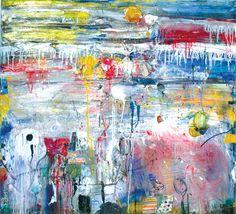 Untitled 050802 / Oil, acrylic on canvas
