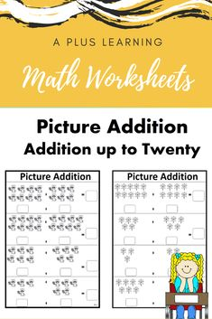 This pack contains 12 worksheets. Each worksheet has pictures picture problems, where students can write the problem below. All problems are up to All worksheets are black and white and no prepCheck out our other Math resource below:Math resources. School Resources, Classroom Resources, Teaching Resources, Classroom Organization, Classroom Management, School Stuff, Back To School, Teaching Posts, All Schools