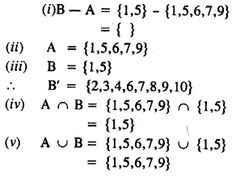 Selina Concise Mathematics Class 8 ICSE Solutions Chapter 6 Sets - CBSE Tuts Thing 1, Empty Set, Composite Numbers, Discrete Mathematics, Natural Number, Prime Numbers, Isosceles Triangle, Maths Exam, Class 8