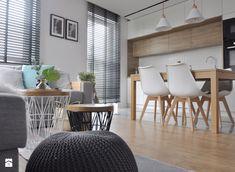 Mieszkanie Kraków,50m2. Realizacja - Jadalnia, styl skandynawski - zdjęcie od Architekt wnętrz Klaudia Pniak