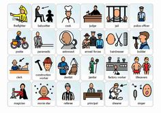 FREE Boardmaker Occupations to download at bottom of page