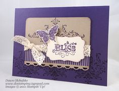 Butterfly Bliss by dostamping - Cards and Paper Crafts at Splitcoaststampers