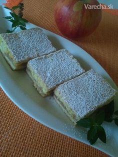 Jemný jablkový koláč (fotorecept) - Recept Sweet Recipes, Ale, Dairy, Cheese, Food, Coffee, Kitchen, Kaffee, Cooking