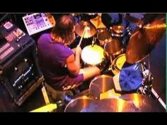 Danny Carey (drummer for Tool) drum cam (I'm jealous).