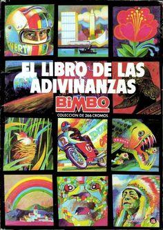 Álbum de cromos de El Libro de las Adivinanzas de Bimbo
