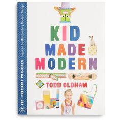 Kid Made Modern Book ($18) ❤ liked on Polyvore featuring home, home decor, small item storage and multi