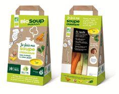 Packaging biosoup classique