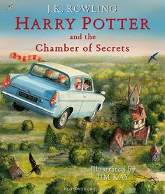 Harry Potter and the Chamber of Secrets is getting a huge update with this illustrated edition