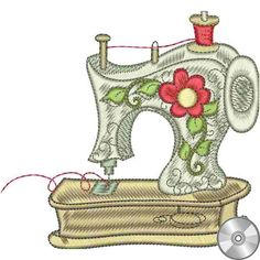 Sewphisticates 2 Machine Embroidery Collection | Compact Disc