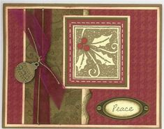 LSC75, Houndstooth Holly by Laurie Couture - Cards and Paper Crafts at Splitcoaststampers