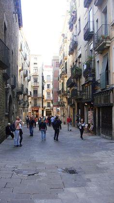 Barrio Gótico, Barcelona Blog Voyage, Plaza, Street View, Lifestyle, Creative, Travel, The Neighborhood, Street, Monuments