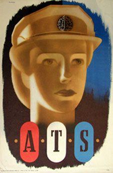 WW2 Recruitment Poster | Abram Games (1914 - 1996) http://www.rennart.co.uk/games.html