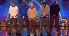 Vijf Mannen Geven Show Weg Bij Britains Got Talent