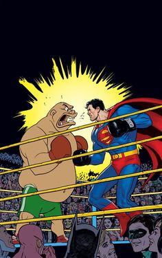 Superman #46 Looney Tunes variant cover by Ryan Sook