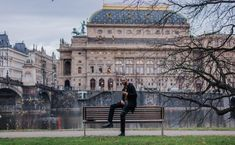 Prague's National Theatre (Narodni Divadlo) National Theatre, Prague, Cool Places To Visit, Louvre, Photoshoot, In This Moment, Island, Building, Travel