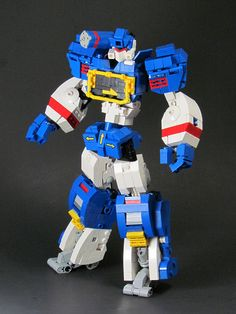 Soundwave out of lego - @Luke Shannon I think I know what were going to do tomorrow