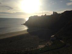 Tynemouth king Edwards bay beach 7.34 am Tuesday the 7th of April 2015 www.tynemouthwebcam.com
