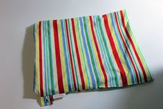 Wet Bag Large  Bright Stripes  Michael by PinkPigeonCreations, $19.95