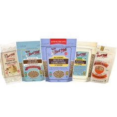 Healthy Breakfast by Bob's Red Mill Gluten Free Pancakes, Pancakes And Waffles, Breakfast Cereal, Eat Breakfast, Gluten Free Muesli, Whole Grain Wheat, Sorghum Flour, Brown Rice Flour, Bobs Red Mill
