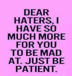 Have patience :-D ;-)
