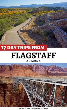 Flagstaff is the perfect home base to explore all the pretty places in Northern Arizona. Day trips from Flagstaff to Petrified Forest National Park, Sedona red rocks, Page Arizona and Horseshoe Bend, plus Flagstaff to Grand Canyon, and many more. Find 17 perfect day trips from Flagstaff Arizona for your family vacation or escape on your own for a beautiful road trip in the Southwestern United States. Extraordinary views and scenic drives, plan your trip #flagstaff #arizona #roadtrip… Flagstaff Arizona, Arizona Usa, Arizona Travel, Usa Travel Guide, Travel Usa, Travel Guides, Travel Tips, Us Road Trip, Road Trip Hacks