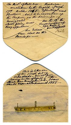 Triangular Letters Sent Home By Russian Soldiers During World War