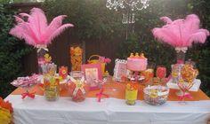 Ducky Baby Shower Candy Buffet