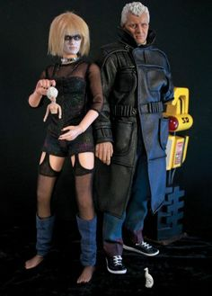 Artist Scott Pettersen brings Blade Runner characters back to life in action figure form.
