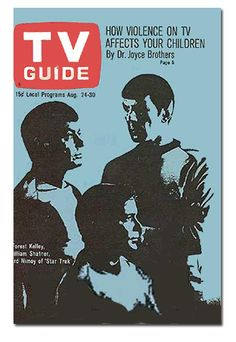 TV Guide 1968 - this is the 3rd TV Guide cover I've found on-line. If these were all U.S. covers that means the show was on the cover 3 times during its 3 season run! (previous pinner)