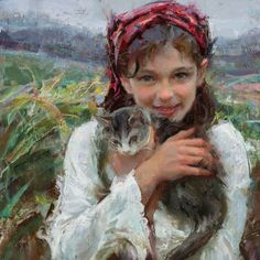A friendly Q&A with painting instructor Daniel Gerhartz about his art career, his work, and one of his first jobs as an artist.